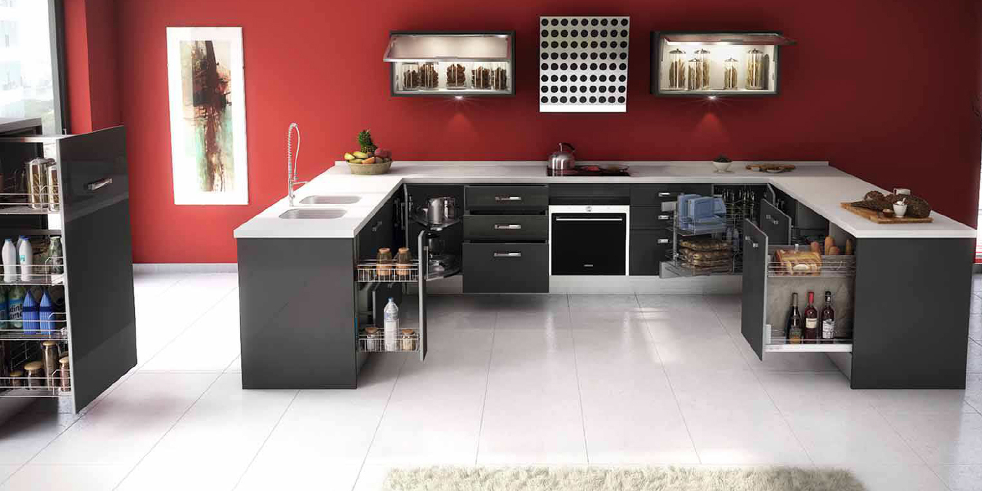 Reformar la cocina tipos de m dulos y muebles de cocina for Muebles de cocina tipo isla